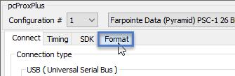 Format Button