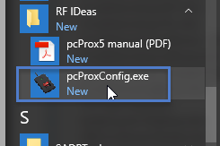 pcProx executable